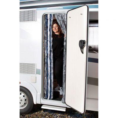 Chenille-Flauschvorhang Reisemobil
